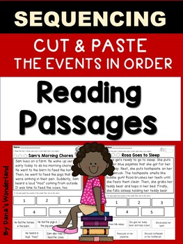 Sequencing Reading Passages -INTERACTIVE