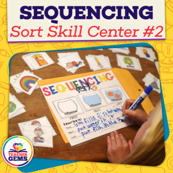 Sequencing Sort Skill Center 2nd Edition