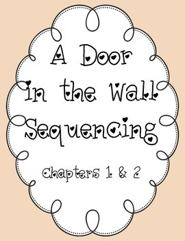 Sequencing A Door in the Wall, chapters 1 & 2