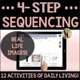 Sequencing Activities of Daily Living Set 2 Speech Boom Cards™