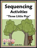 Sequencing Activities - Three Little Pigs
