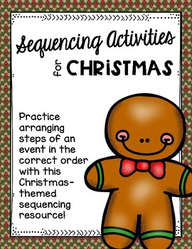 Sequencing Activities for Christmas