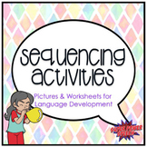 Sequencing Activities for Language (Folder Activity and Worksheets)