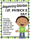 Sequencing Activities for St. Patrick's Day