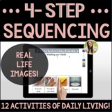 Sequencing Activities of Daily Living Set 1 Speech Boom Cards™
