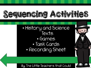 Sequencing Activities with History and Science