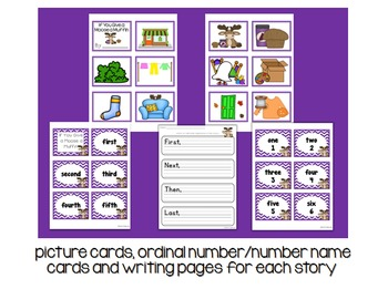 Story Sequencing Activity Bundled Set