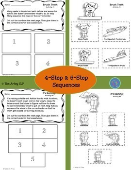 Sequencing Activity Packet Bundle