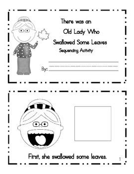 Sequencing Activity: There Was an Old Lady who Swallowed Some Leaves
