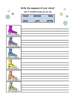 Sequencing Activity - Winter Themed