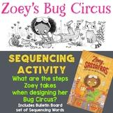 Sequencing Activity: Zoey's Bug Circus