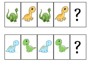 Sequencing Activity with Dinosaurs