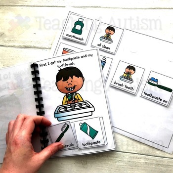 Life Skills Adapted Books Bundle for Autism and Special Needs Sequencing