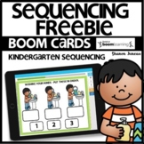 Sequencing | BOOM CARDS | Freebie