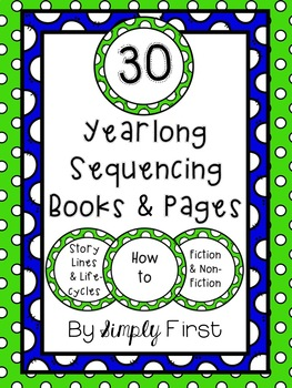 Sequencing Books & Writing Activity Pages