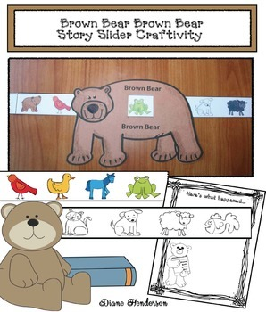Sequencing Brown Bear Story Slider