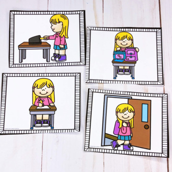 Sequencing Bundle-  Everyday Pictures and Printables  Set 2