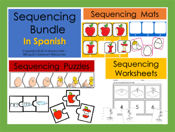 Sequencing Bundle In Spanish