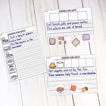 Sequencing Bundle- Pictures and Printables  Set 1
