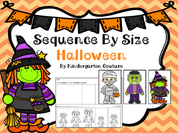 Sequencing By Size Halloween