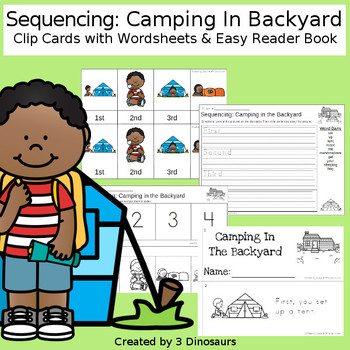 Sequencing: Camping in the Backyard
