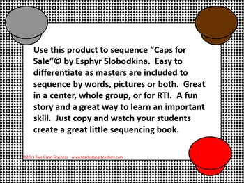 """Sequencing """"Caps for Sale"""""""