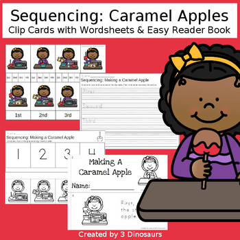 Sequencing: Caramel Apples
