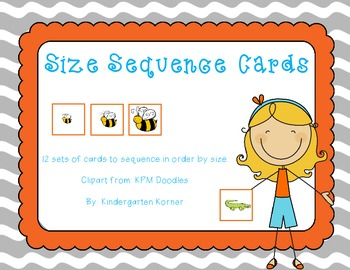 Sequencing Card by Size