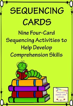 Sequencing Cards - Comprehension Skills