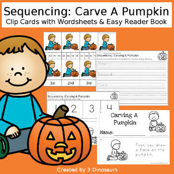 Sequencing Cards Set for Fall