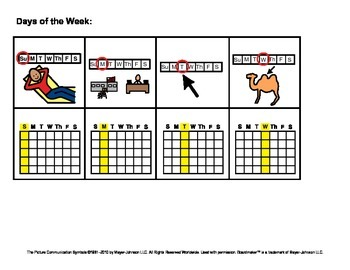 Sequencing Cards (Time - Days, Months, Seasons, etc)