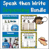 #MarkdownMonday Sequencing Cards and Writing Pages Bundle