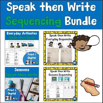 Speak then Write Sequencing Bundle