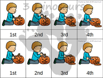 Sequencing: Carve a Pumpkin