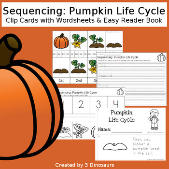 Sequencing: Pumpkin Life Cycle