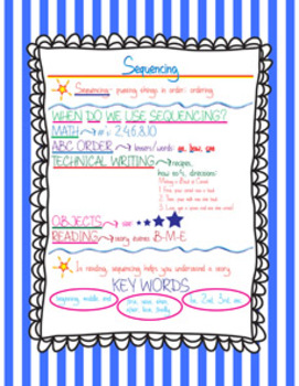 Sequencing FREEBIE Printable
