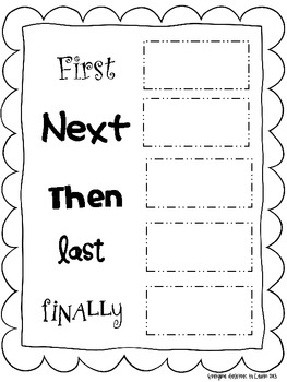 Sequencing Charts Freebie