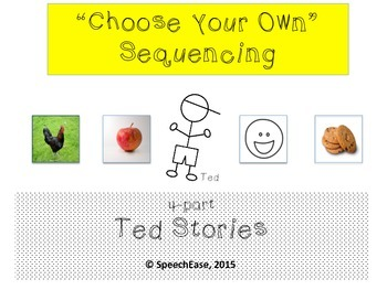 """Sequencing: """"Choose your Own"""" Sequencing Stories (Ted)"""