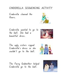 Sequencing Cinderella Story Foundation Font