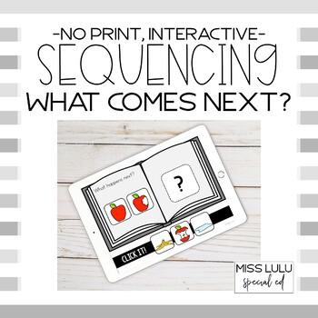 Sequencing Click It Book {Interactive, No Print}