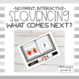 Sequencing Click It Book {Interactive, No Print}