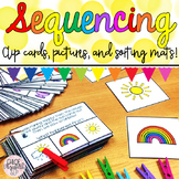 Sequencing Clip Cards and Sorting Mats!