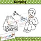 Sequencing Clip art - Camping