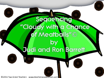 """Sequencing """"Cloudy With A Chance of Meatballs"""""""