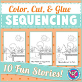 Sequencing: Color, Cut & Glue