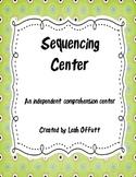 Sequencing Comprehension Center