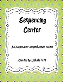 Sequencing Comprehension Center