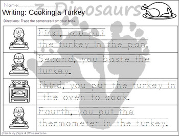 Sequencing: Cooking A Turkey