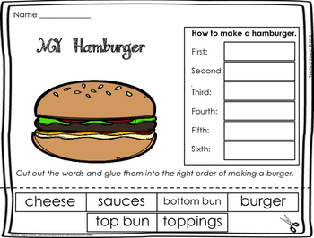 Sequencing Craft: Making a Hamburger