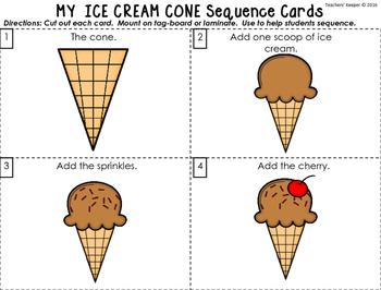 Sequencing Craft: Making an Ice Cream Dessert